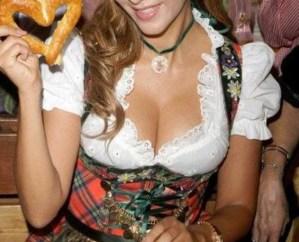 De mooiste, en grootste, Oktoberfest tieten