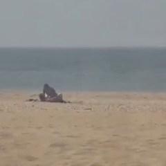 Neuken op het strand van Scheveningen?