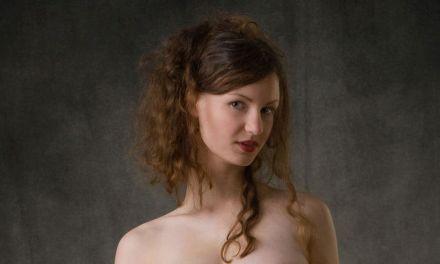 Susan Baroque in al haar natuurlijke schoonheid