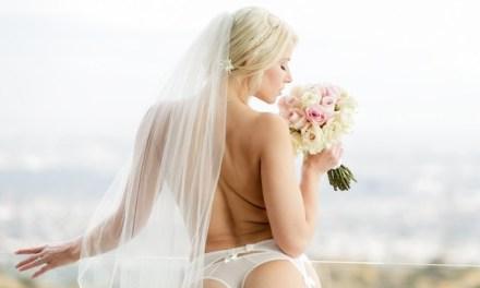 Naakte Vrouwen, witte bruidslingerie, doorkijklingerie en meer