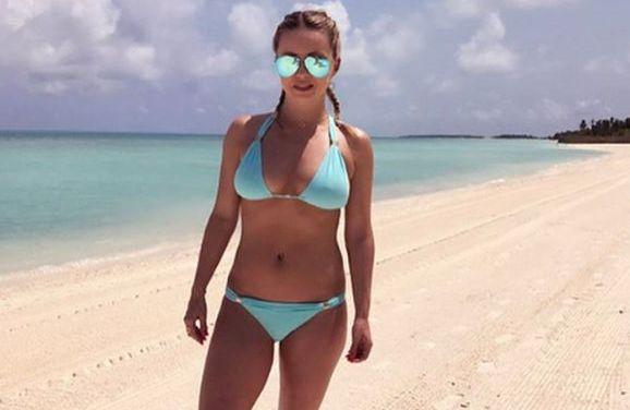 Ola Jordan heeft ontdekt dat bikinifoto's het goed doen op Instagram