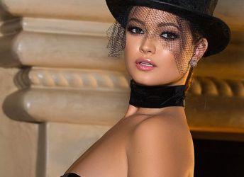 Naakte Vrouwen, een stijlvolle Playboy babe met een hoedje op en meer