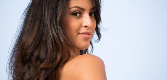Sophia Leone, knappe Latina, en Michelle Martinez hebben een trio