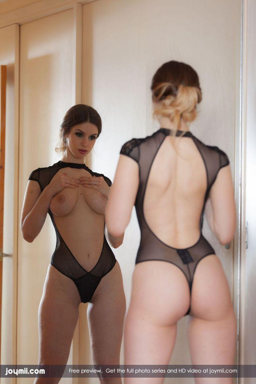 Geil voor de spiegel