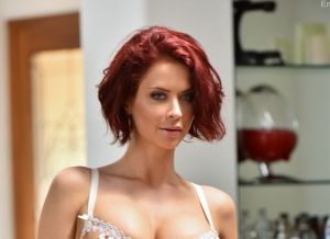 Milf Emily in sexy lingerie