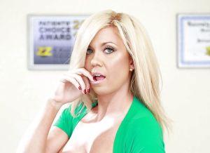 Parker Swayze, blonde pornoster