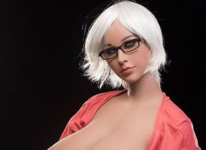 Blonde sekspop met hele grote tieten