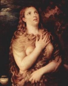 Maria Magdalena, Titiaan,