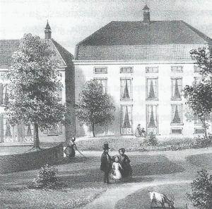 Steenbeek. Een voormalige bierbrouwerij.