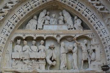 Portal świętego Jana, Katedra w Rouen