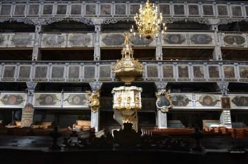 Ambona i empory w Kościele Pokoju w Jaworze