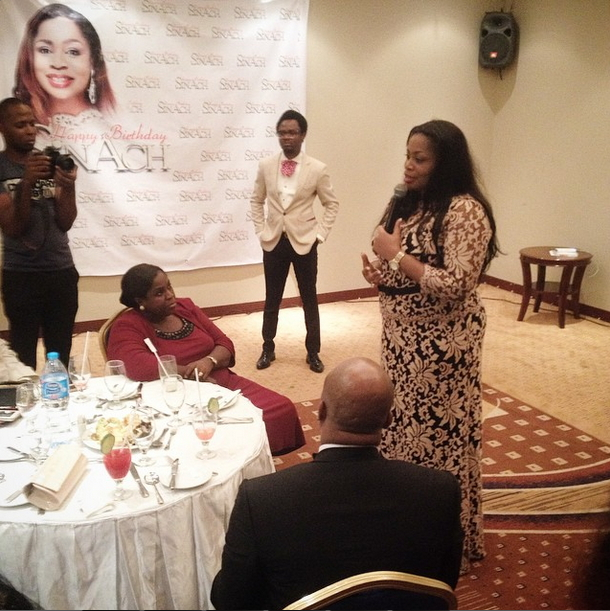 Photos: Chioma Jesus, Buchi, Others At Sinach's Surprise Birthday