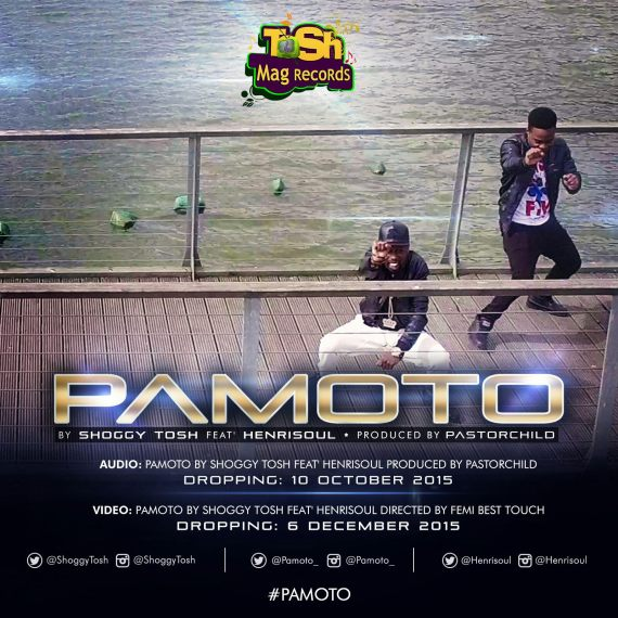Pamoto by Shoggy Tosh ft Henrisoul - AUDIO (2)(1)