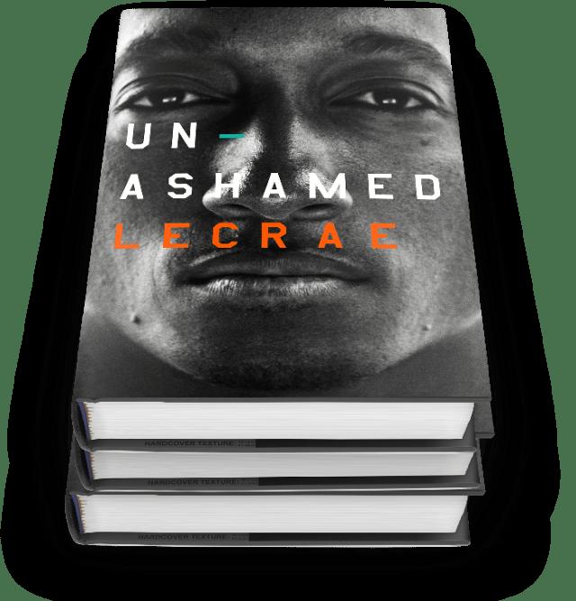 unashamed, lecrae, book. lecrae 'unashamed'