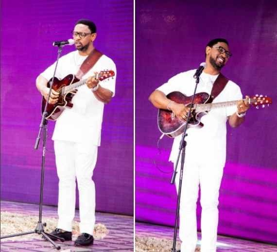 Biodun fatoyinbo Leads worship at Coza