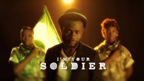 pita, im your soldier, video