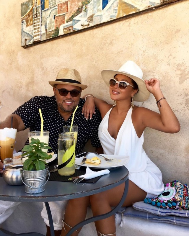 Israel-Houghton-and-Adrienne-Bailon-Europe-Vacation_1