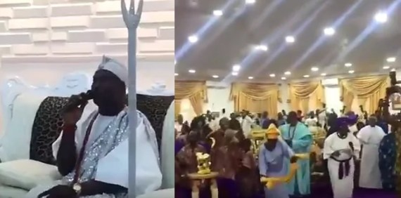 Ooni Of Ife Leads Praises