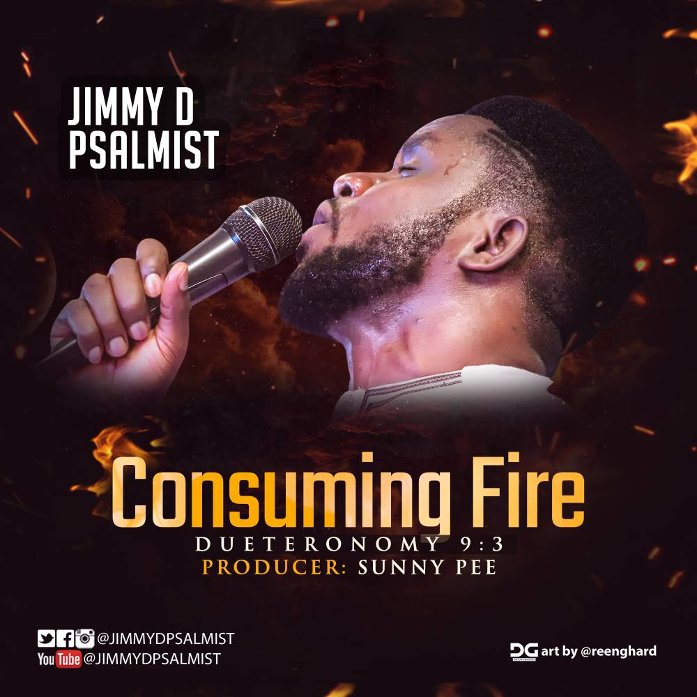 #SelahMusic: Jimmy D Psalmist | Consuming Fire [@JimmyDPsalmist]