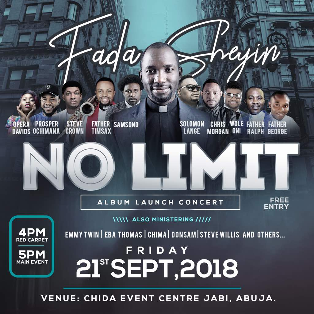"Fada Sheyin Set To Launch New Album ""No Limit"" With Concert! 