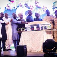[Photos] Osinbajo, Oyedepo, Others At Dr. Paul Enenche's 50th Birthday Celebration!