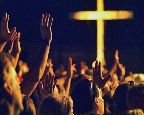 Raise Hands During Worship