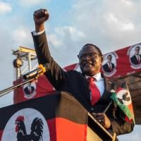 Malawian Preacher Lazarus Chakwera Becomes Nation's President