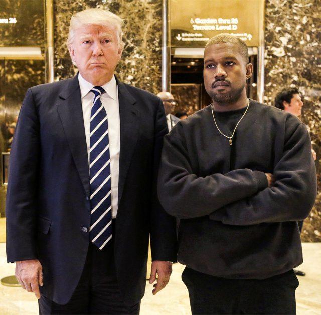 Kanye West support Trump