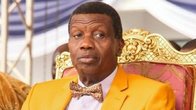 Pastor Adeboye Says Corruption Is Nigeria Biggest Problem