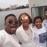 Photos: Ada Ehi's Birthday Boat Cruise Alongside Onos Ariyo, Frank Edwards, Limoblaze, Enkay, IBK & More