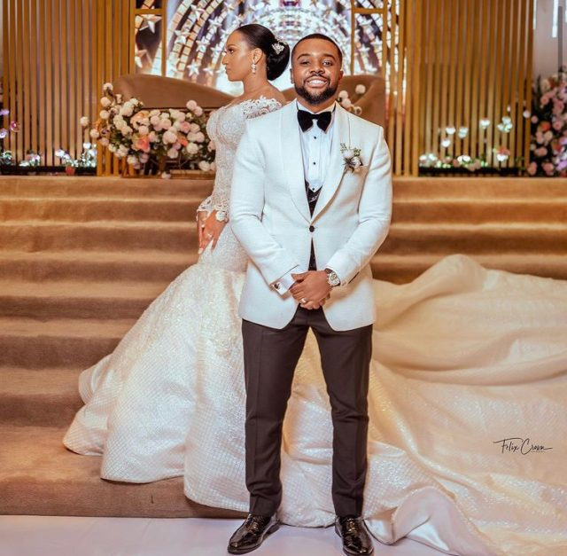 Photos From Actor Williams Uchemba Church Wedding To Brunella Oscar