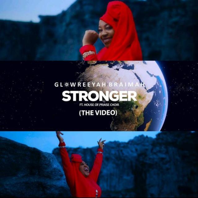 Video, Stronger, Glowreeyah Braimah, House of Praise Choir