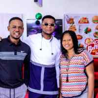Chris Shalom & Wife Launch Bellany Fast Food Restaurant In Abuja