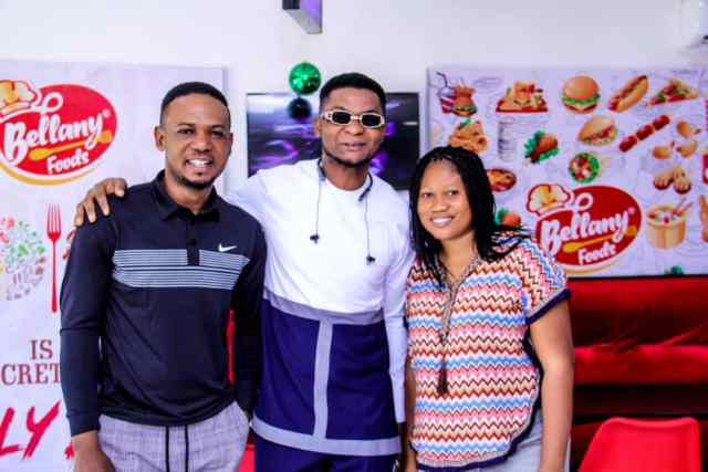 chris shalom and fidelia, Bellany Foods