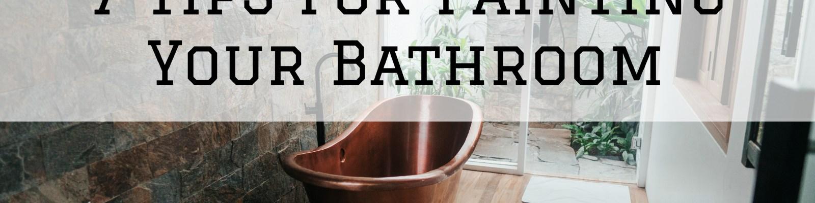 2021-04-23 Selah Painting St Louis MO Painting Bathroom Tips