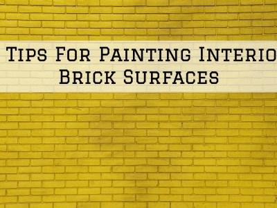2021-07-09 Selah Painting St Louis MO Interior Brick Surfaces Tips