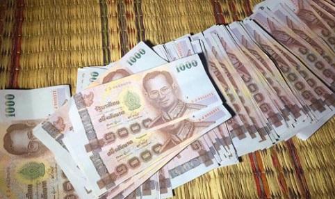 Uang Baht Palsu