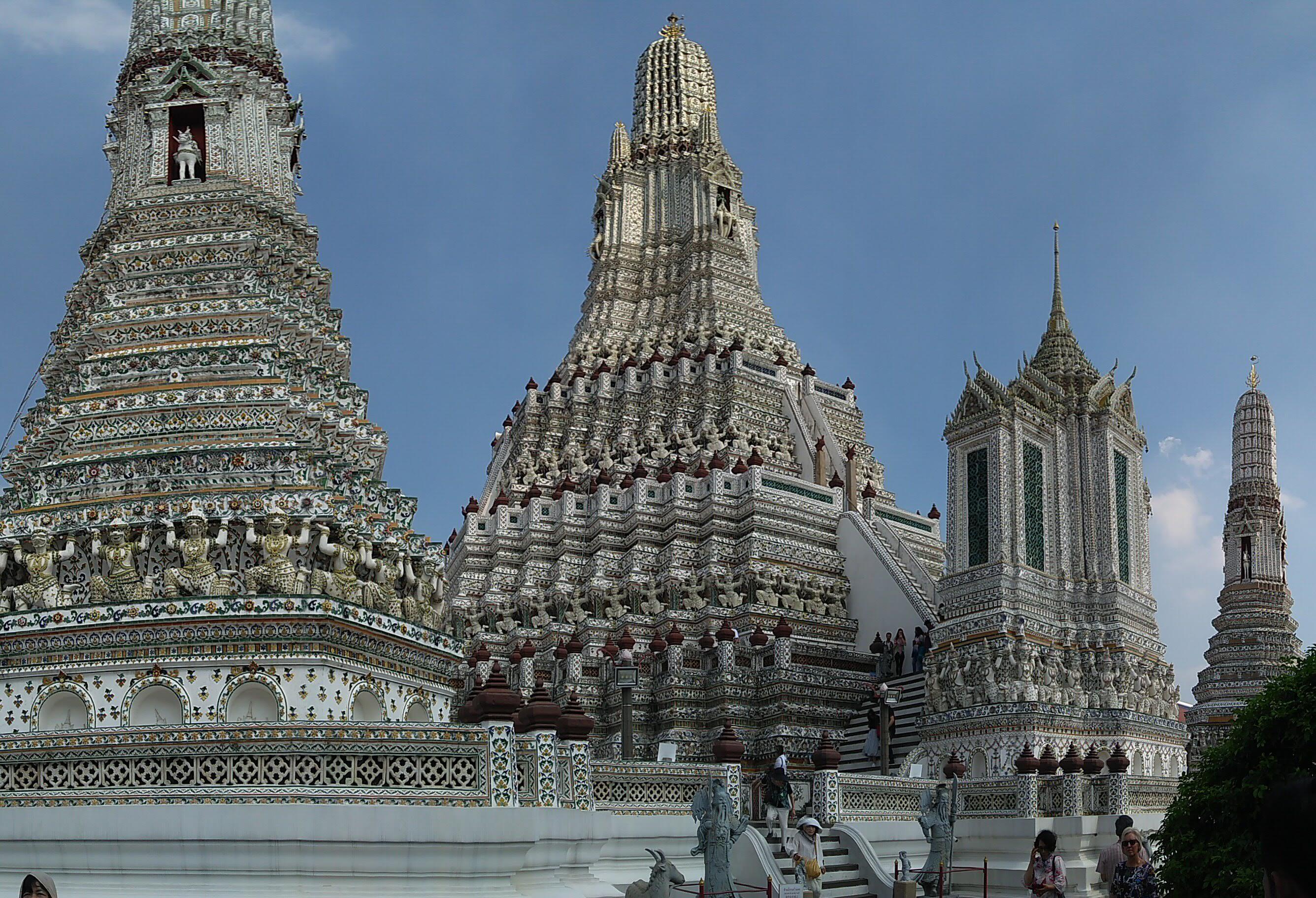 Wat Pho yang tutup