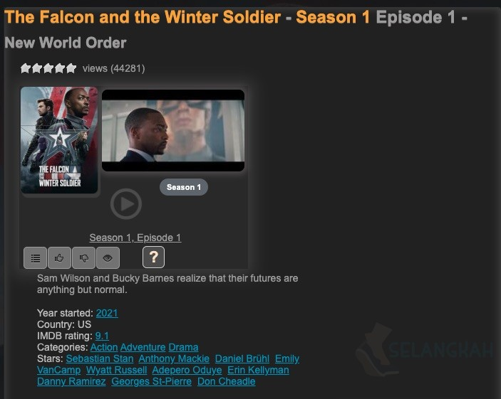 streaming the falcon and the winter soldier