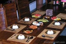 Večeře ala karta - dovolená na Bali