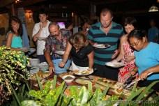 Švédský stůl - dovolená na Bali