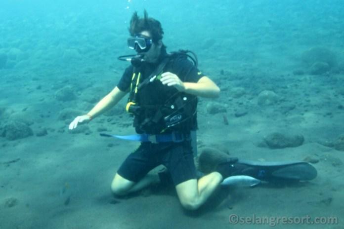 Potápění na Bali s Lukášem?
