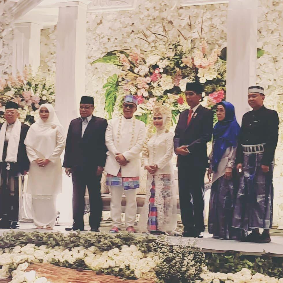 Pernikahan putri cawapres RI