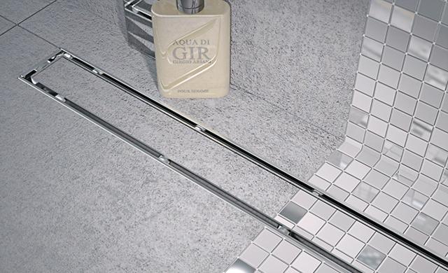 Dusche: Ablaufrinne selbst.de