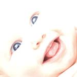 Hintergrundbild Meditation Inneres Kind Säugling