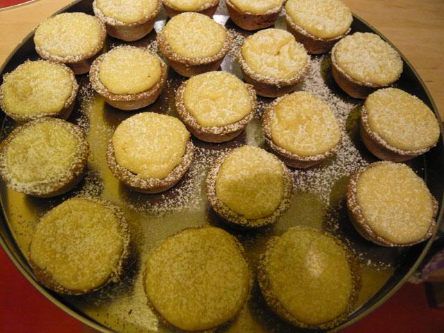 Tartelettes à la Vanille