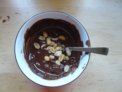 Schoko-Erdnüsse
