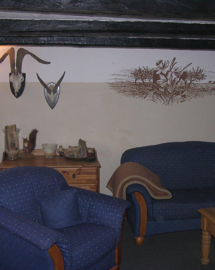 Rustikales Wohnzimmer