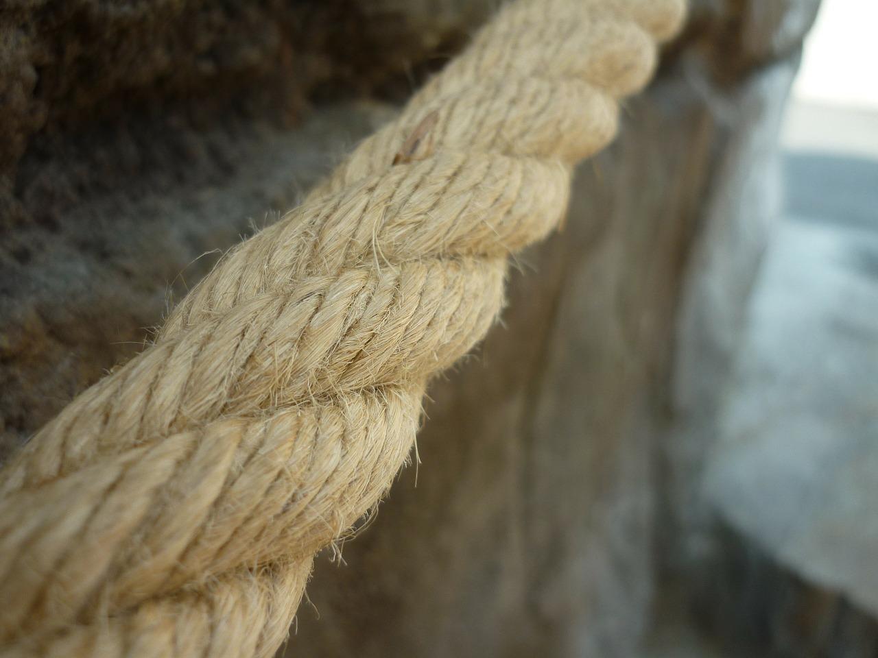 Detail eines Seils