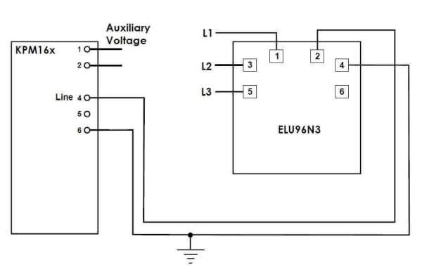 ELU96N3 Connection Diagram SELCO USA
